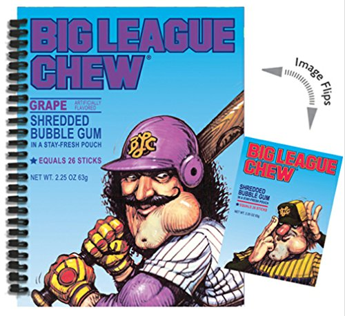 iscream Big League Chew Picture-Changing Journal - 1