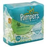 Pampers 3 - 72 wipe packs [216 wipes]