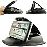 "ChargerCity® Hippo Series Universal Smartphone GPS NonSlip Dashboard Beanbag Friction Mount for Garmin Nuvi TomTom Via GO Start Live XXL XL Magellan Roadmate GPS *Fit all 3.5"" 4.3"" 5"" 6"" GPS* (Includes ChargerCity Direct Replacement Warranty)"