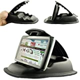 "ChargerCity® Hippo Series Universal Smartphone NonSlip Beanbag Friction Mount for Garmin Nuvi TomTom Via GO Start Live XXL XL Magellan Roadmate GPS *Fit all 3.5"" 4.3"" 5"" 7"" GPS* (Includes ChargerCity Direct Replacement Warranty)"