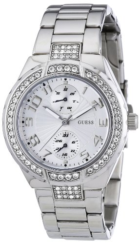 Guess Ladies Silver Bracelet Watch W12609L1