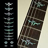 Fretboard Markers Inlay Sticker Decals for Guitar Bass - Tailored Leaves (Mix)