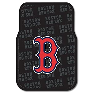 MLB Boston Red Sox Two-Pack Front Car Floor Mat by Northwest