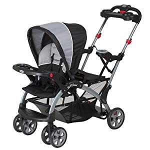 Baby Trend Sit N Stand Ultra Tandem Stroller, Phantom from Baby Trend