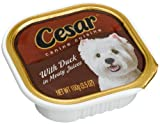Cesar Canine Cuisine with Duck in Meaty Juices for Small Dogs, 3.5-Ounce Cans (Pack of 24)
