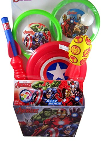 Marvel Avengers Candy and Toy Filled Deluxe Easter Basket
