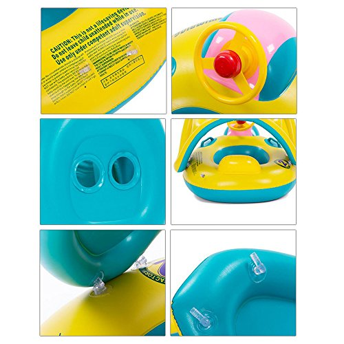 Home ...  sc 1 st  Epic Kids Toys & Eonkoo Cute Sunshade Tent Baby Swimming Pool Inflatable Boat for ...