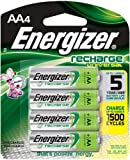 Energizer Universal NiMH AA Rechargeable Batteries, 4-count (1400 mAh, 1500 Cycles, Pre-Charged)