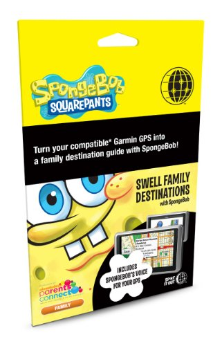 Spot it Out Nickelodeon SpongeBob Swell Family Destinations for Garmin nüvi/zumo/StreetPilot U.S. Street Map
