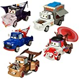 "Disney Pixar Cars ""2"" Exclusive 1:43 Mater-Rama Cars Die Cast - 5 Cars (Disneystore exclusive) - Véhicule Miniature - Voiture"
