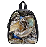 Luxry Abalone Custom Kids School Bag Backpack (Small) Leisure
