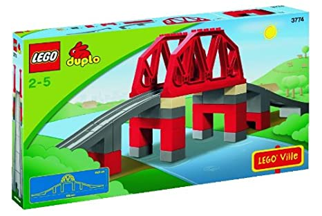 DUPLO - Jeu de construction premier âge - Train - Le Pont