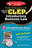 CLEP Introductory Business Law with CD (CLEP Test Preparation) (0738603163) by Fairfax JD, Lisa M.