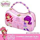 [ストロベリーショートケーキ]Strawberry Shortcake Tin Box Handbag/メタル缶 ハンドバッグ/ピンク