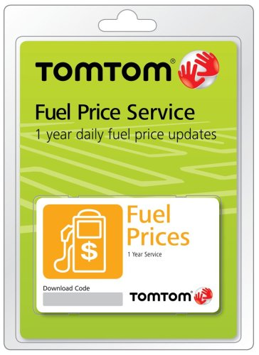 TomTom Subscription for Realtime Fuel Prices on TomTom GPS (Scratch Card)