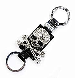 See COOL&BRIGHT 2014 Newest Cool Car Skull Automotive Interior Accessories Key Ring Chains Details
