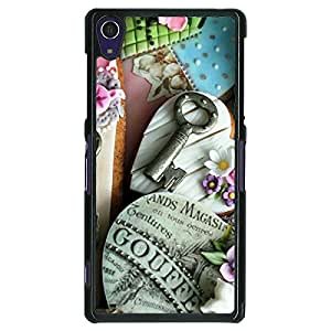 Jugaaduu Cakes Back Cover Case For Sony Xperia Z1