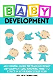 img - for Baby Development: An Essential Guide to Tracking Infant Development and Knowing What to Expect in Your Baby's First Year book / textbook / text book