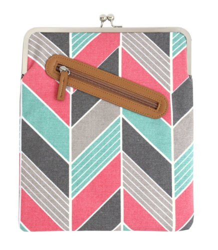 kailo-chic-universal-ipad-tablet-case-coral-and-turquoise-chevron