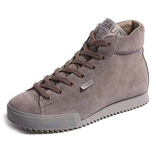 B0212 sneaker alta scarpa uomo grigio GAUDI' JEANS GJ shoes men [40]