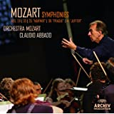 """Mozart: Symphonies Nos. 29, K.201; 33, K.319; 35, K.385 """"Haffner""""; 38, K.504 """"Prague""""; 41, K.551 """"Jupiter"""" (Live)"""
