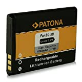 Battery BL-5B BL5B for Nokia 3220 3230 2366i 5070 5140 5200 5300 5320 5500 6020 6021 6060 6061 6070 6080 6120 6121 6124 7260 7360 N80 N90 and more... [ Li-ion, 1000mAh, 3.7V ]