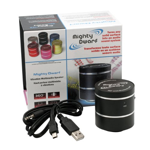 Authentic Black Mighty Dwarf 5W 5 Watt Portable Speaker