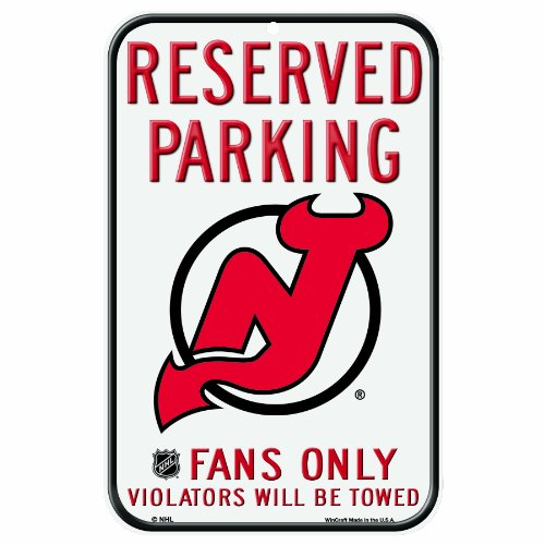 Nhl New Jersey Devils 11-By-17 Inch Sign