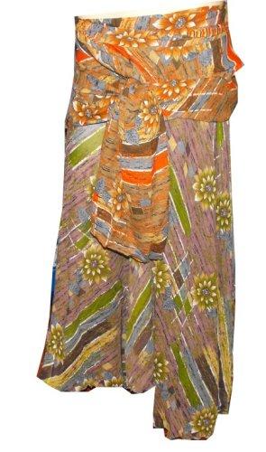 Vintage Wrap Indian Skirt/ Dress #Fix-129