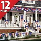 Patriotic Decorating Kit 12pc