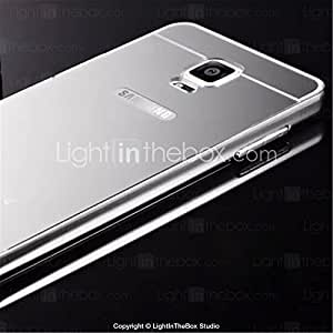 New Plating Mirror Back with Metal Frame Phone Case for Galaxy Note 4 (Assorted Colors) #04629324