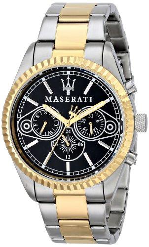 Maserati  R8853100008 - Reloj de cuarzo para hombre, con correa de acero inoxidable, color multicolor