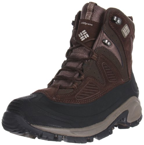 Columbia Men's Snowtrek Snow Boot,Cordovan/Tusk,16 M US