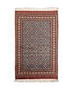 Navaei & Co. Alfombra Kashmir Gris/Multicolor 160 x 91 cm