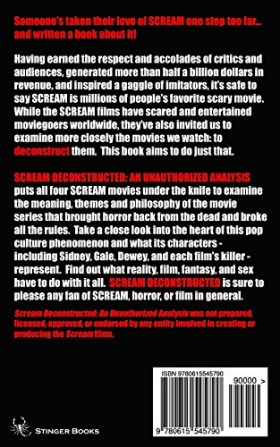 Scream Deconstructed: An Unauthorized Analysis