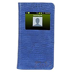 D.rD Flip Cover with screen Display Cut Outs designed for Samsung Galaxy Note 4