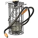 True HandMade 15 inch Black QT Style with Zaal Shisha Hookah available at Amazon for Rs.2990