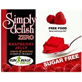 Simply Delish Sugar Free Instant Raspberry Jelly 8 g (Pack of 8)