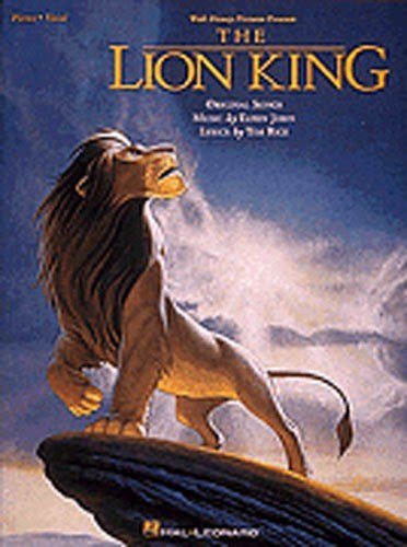 Elton John: The Lion King - Vocal Selections. Partitions pour Piano, Chant et Guitare(Boîtes d'Accord)