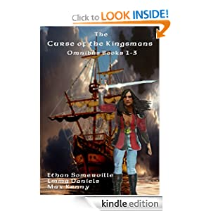 The Curse of the Kingsmans Omnibus - Books 1-3