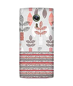 Floral Pattern Alcatel One Touch Flash 2 Case