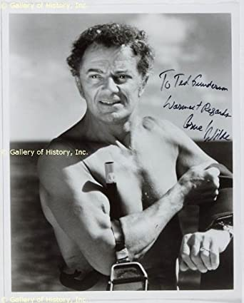 Cornel Wilde CORNEL WILDE INSCRIBED