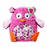 Nat and Jules Demdaco N00586 Floralicious Owl Soft Toy