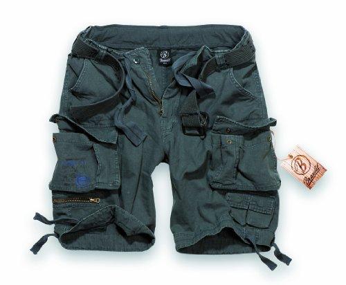 BRANDIT Pantaloni Bermuda uomo Cargo SAVAGE Short con Cintura (XL)