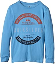 Quiksilver Orgatycraftyy T-Shirt manches longues Garçon Niagara FR : 14 ans (Taille Fabricant : L/14)