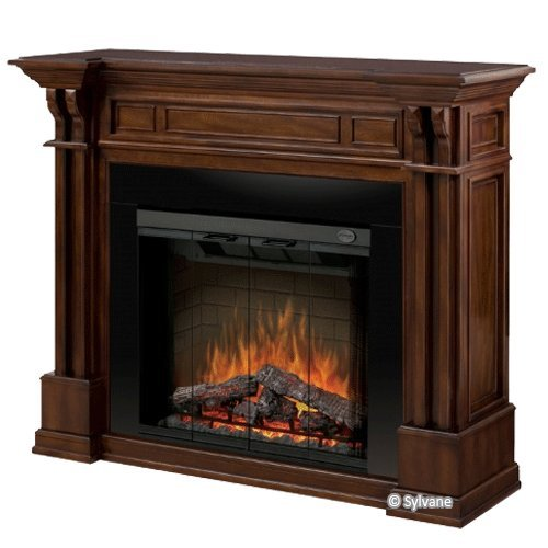 Dimplex Kendal Mantel Electric Fireplace in Burnished Walnut picture B005P0PEXS.jpg
