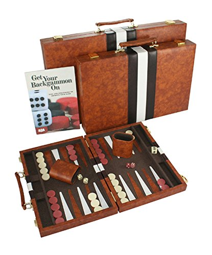 #1 Top Backgammon Set - Classic Board Game Case - Best Strategy & Tip Guide - Available in Small, Medium and Large Sizes By Get the Games Out - 519nug 2BVUvL - #1 Top Backgammon Set – Classic Board Game Case – Best Strategy & Tip Guide – Available in Small, Medium and Large Sizes By Get the Games Out