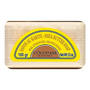 L'occitane Shea Butter Extra Gentle Soap Orange Honey 3.5oz