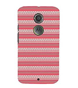 Pink Tribal Artistic 3D Hard Polycarbonate Designer Back Case Cover for Motorola Moto X2 :: Motorola Moto X (2nd Gen)