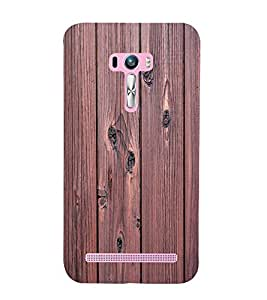 printtech Wooden Design Back Case Cover for Asus Zenfone Selfie::Asus Zenfone Selfie ZD551KL
